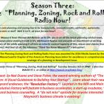 Town Planner Radio Show – TODAY at 3pm!