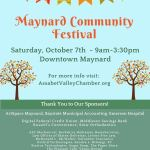 Maynard Fest is Sat October 7th!