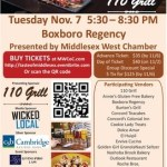 Taste of Middlesex Event November 7th