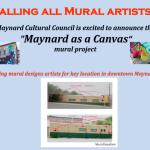 """Maynard as a Canvas"" Mural Project"
