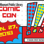 2nd Annual Maynard Library Comic Con!