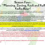 Planning, Zoning, Rock and Rolling Radio Hour