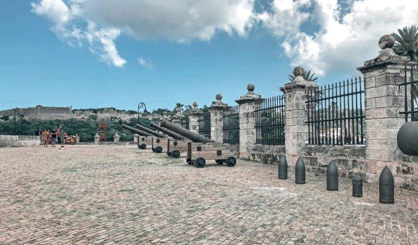 Cañones del Castillo de La Real Fuerza