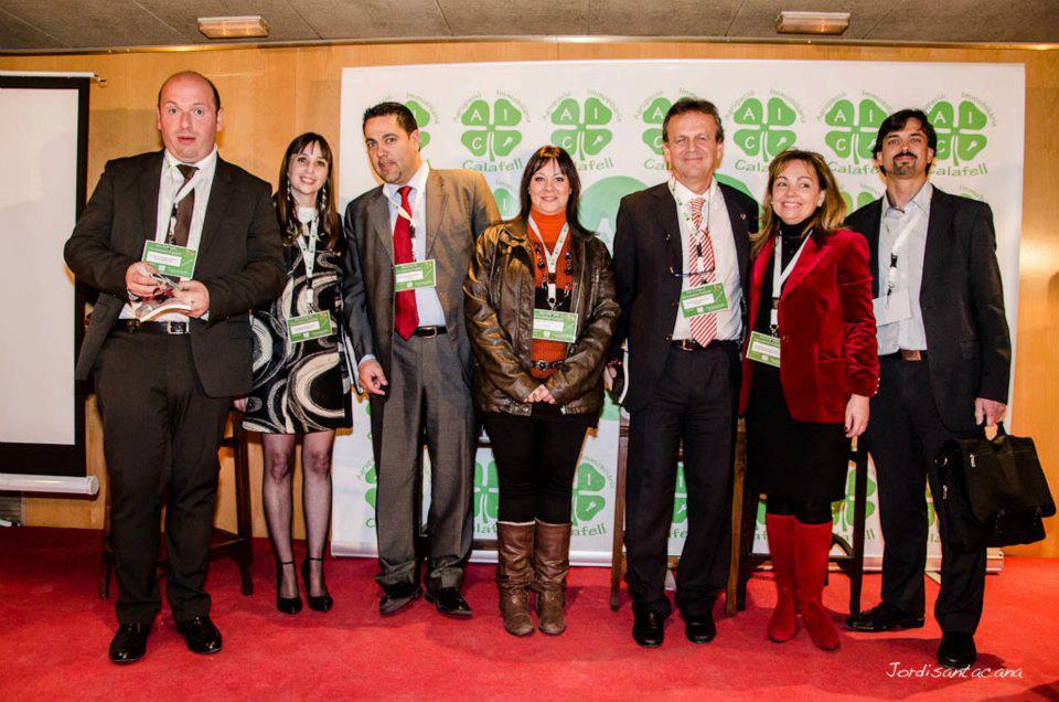 Encuentros en el tercer congreso Aeic13 Calafell