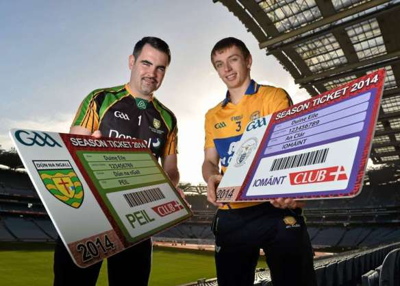 GAA season tickets 2014