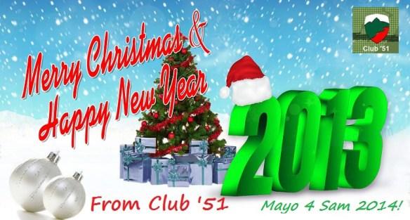 Happy Christmas & Happy New Year