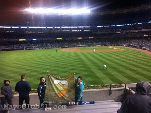 Mayo fans at Yankee Stadium