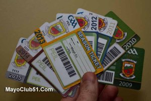 2016 Mayo GAA season ticket