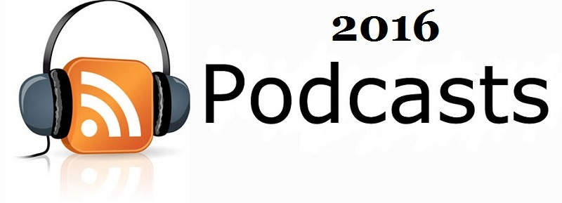 2016 podcasts logo