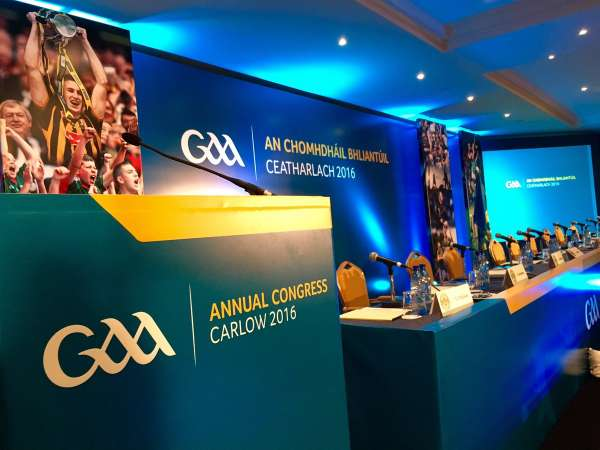2017 GAA Annual Congress This Weekend