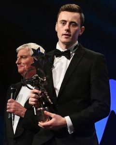 diarmuid o'connor 2016 gaa gpa all star young player of the year