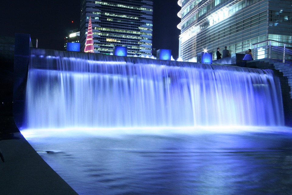 Cheonggyecheon Stream Chapter Impressions Waterfall