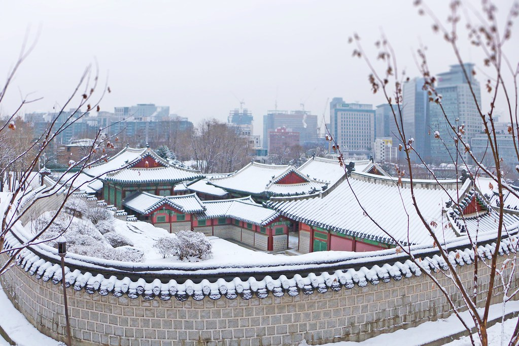 Gyeonghuigung Palace winter