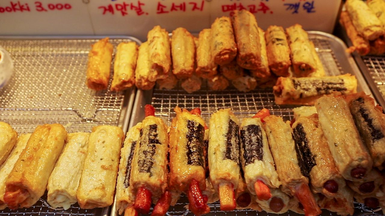 Namdaemun Market / Fish Cake Bar