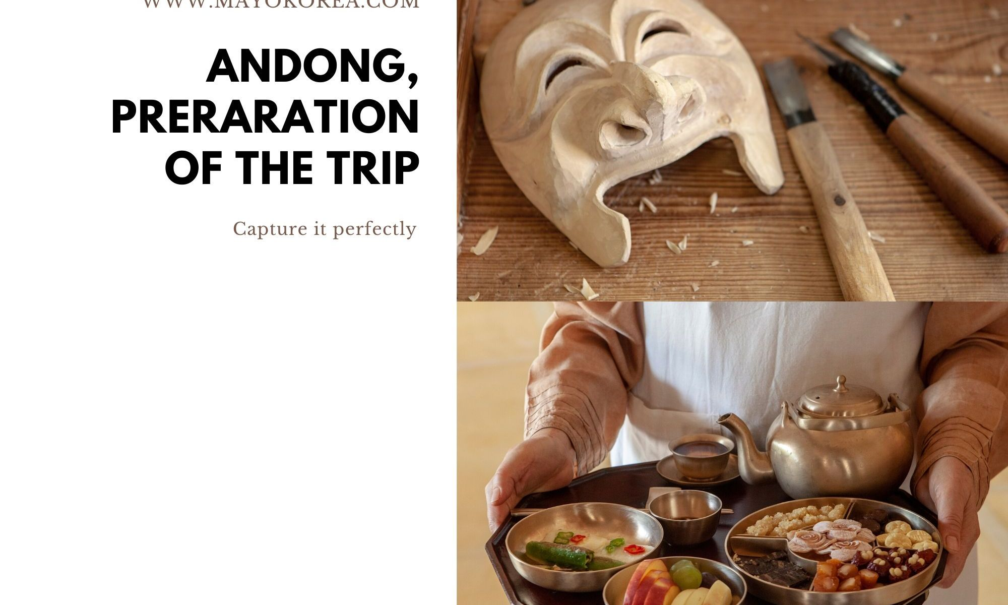 Andong, Preparation of the trip