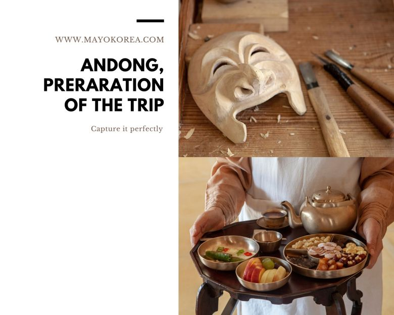 Andong: Preparation of the trip