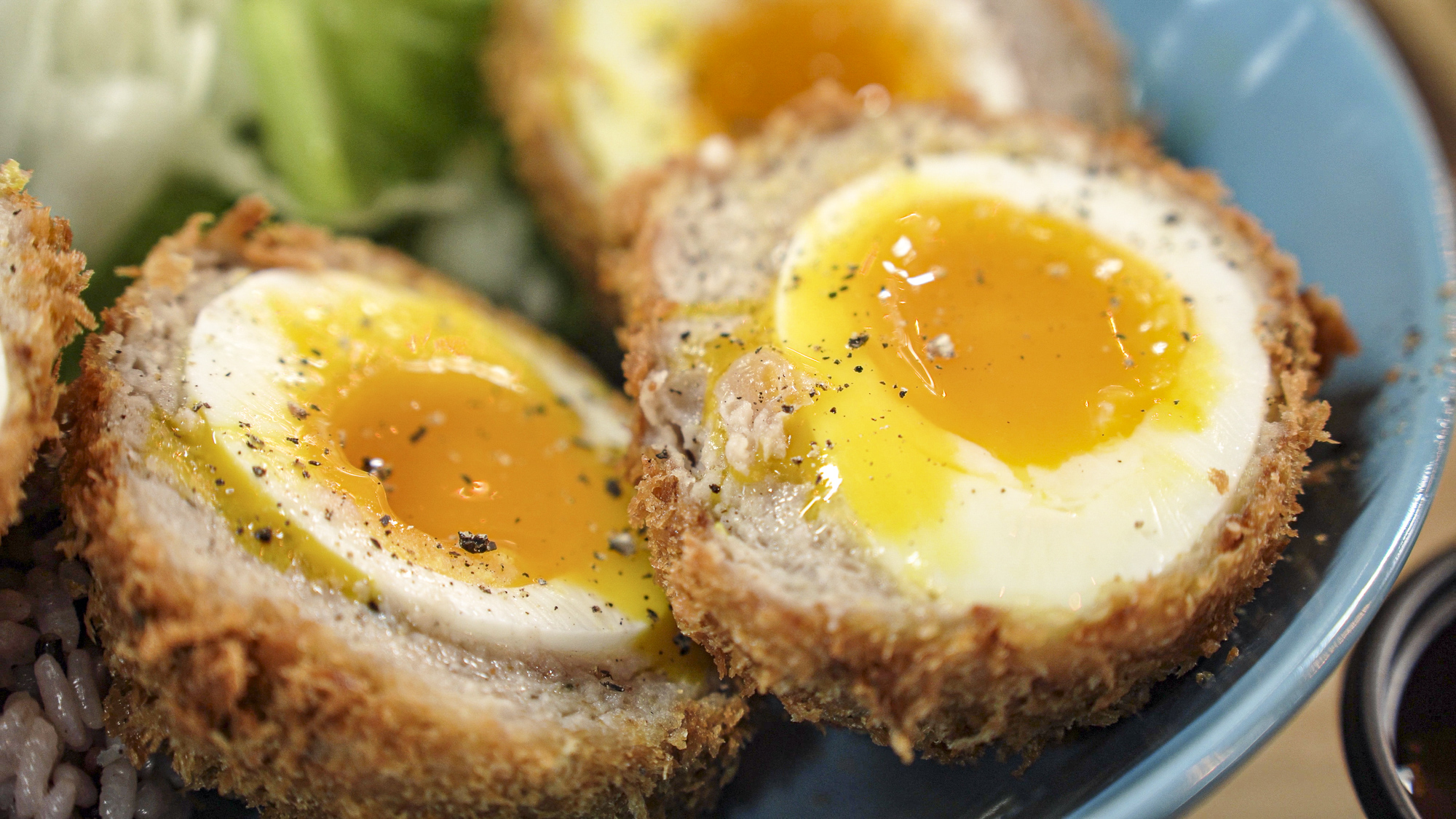 authentic england scotch egg in Korea_Korean street food_스카치 에그