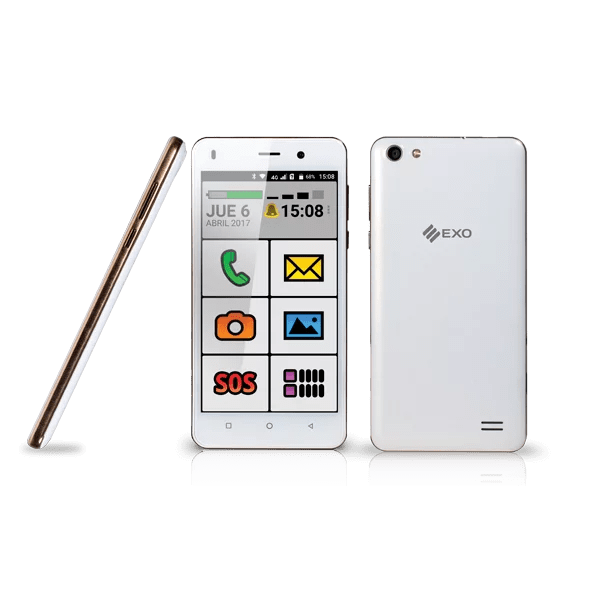smartphone EXO Spanky Fácil
