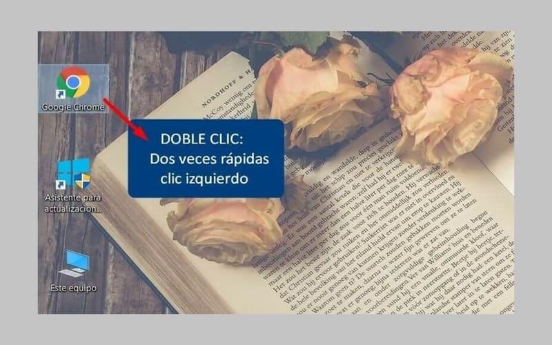 cómo hacer doble clic