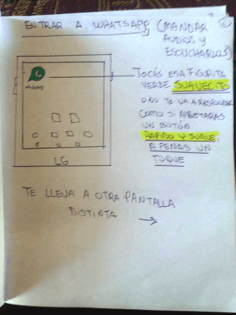 como enviar audio con whatsapp