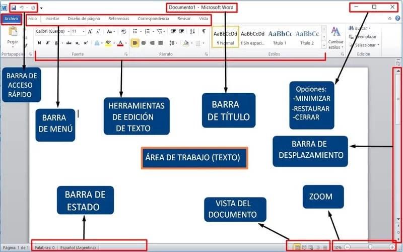 Gua Para Usar Microsoft Word  Primeros Pasos  Mayores Conectados