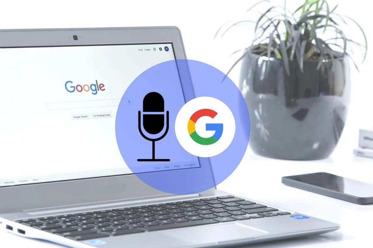 como buscar en google usando la voz