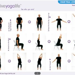 Office Chair Workouts For Abs Crate And Barrell Chairs Chair-yoga-level-1-class-1 – Mayores De Hoy