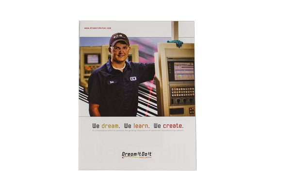 Dream it Do It fold out brochure and poster by The Mayoros Agency in Fort Mill, SC