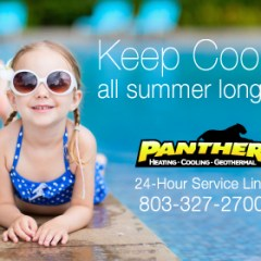 Panther Keeping You Cool Banner Ads