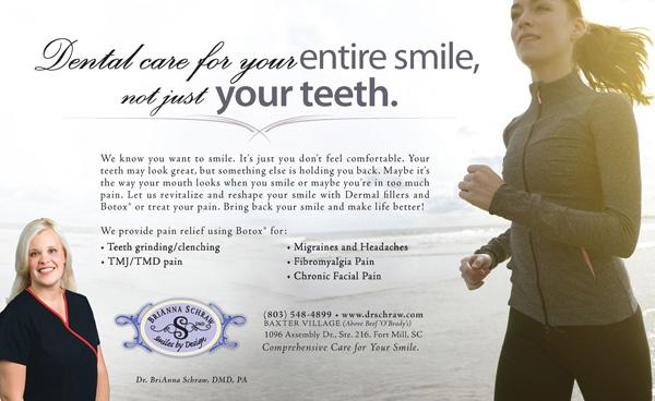 Award Winning Dentist Advertising Design