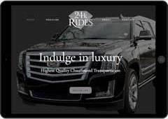 24k Rides Website