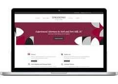 D'Agostino Law Firm Website