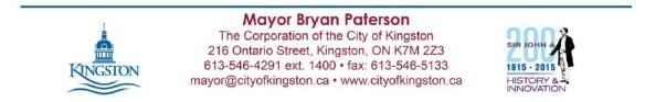 mayor's letterhead - footer