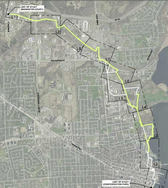 K&P Trail extension feasibility study - Nov. 10 Report
