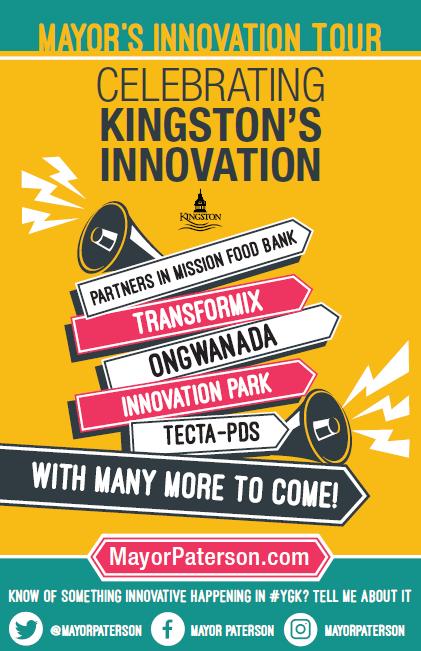 Mayor's Innovation Tour Poster
