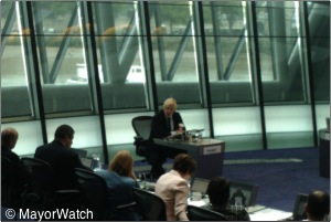Assembly Members yesterday quizzed Boris Johnson on his budget