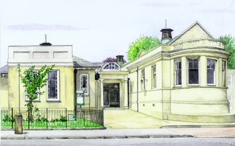 An artist's impression of the new museum