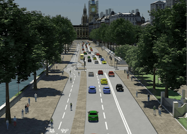 Boris Johnson has unveiled ambitious plans to increase cycling. Image: TfL