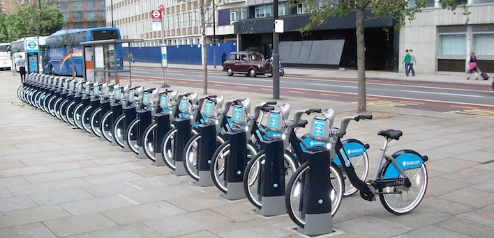 Barclays is to cease sponsoring the capital's bike hire scheme. Image: MayorWatch