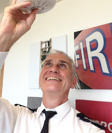 Fire Commissioner Ron Dobson is urging Londoners to take part in the campaign.
