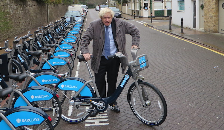 The Mayor opened the South West expansion of the cycle hire scheme on Friday.