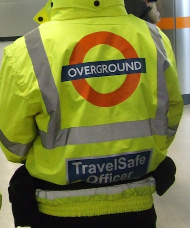 Travel Safe officers patrol the London Overground