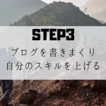 【STEP3】アクセスもない、100記事も無理、クソ記事だらけのブログにならない為に