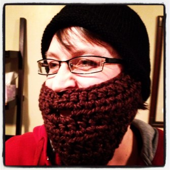 A commissioned beard - that's how to do it!