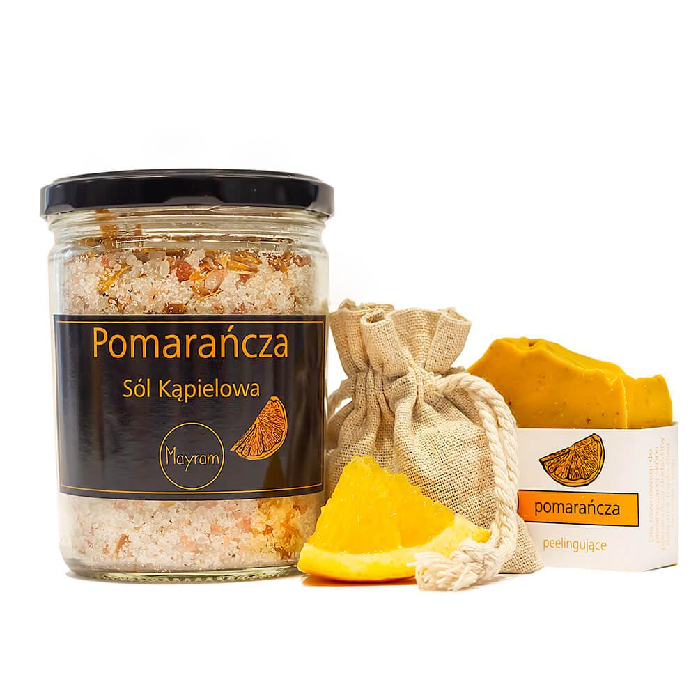 Zestaw Pomarańcza