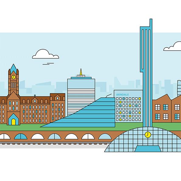 Manchester Illustration 1