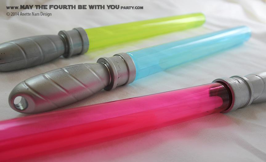 glow stick lightsabers an
