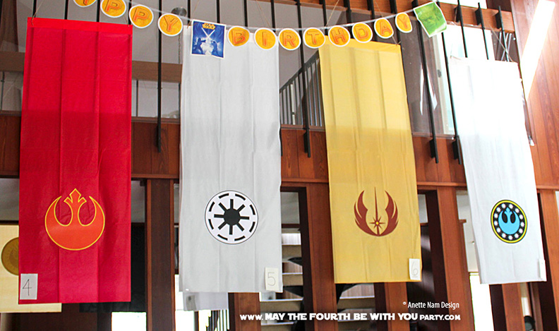banners flags may the