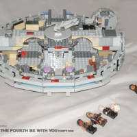 Review of the LEGO® Millennium Falcon, Set 75105