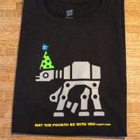 DIY AT-AT Star Wars Party Shirt